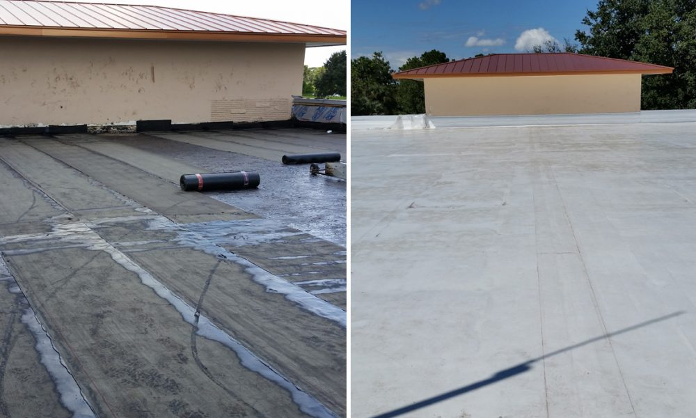 Flat-Roof-Commercial-Before-After